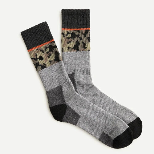 These cozy socks will keep his feet warm on the coldest of days! #ABlissfulNest