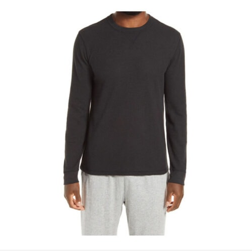 This thermal crewneck pullover is only $25 - perfect holiday gift for him! #ABlissfulNest