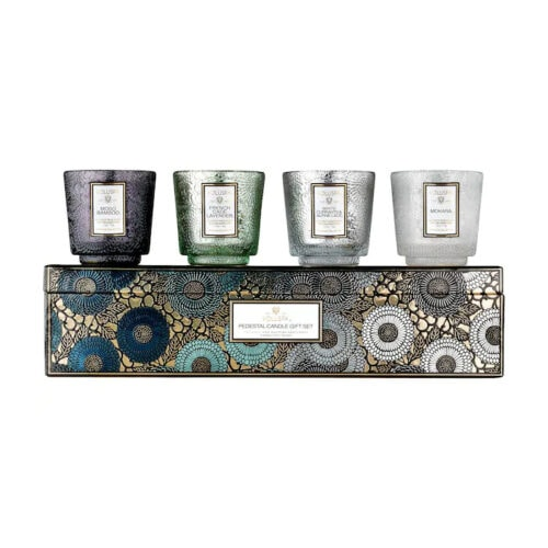 Gift this Voluspa candle set to your sister, an in-law or friend this holiday season! #ABlissfulNest