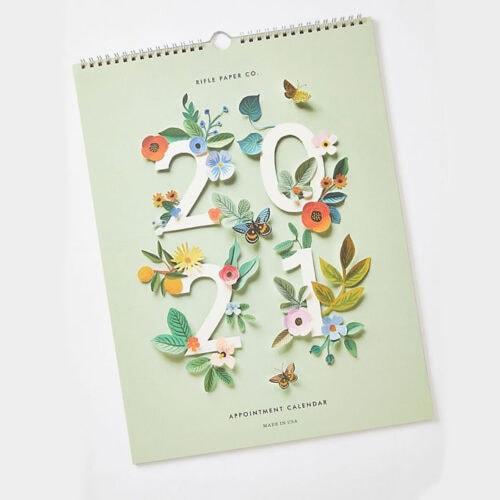 This 2021 calendar is a perfect gift idea! #ABlissfulNest