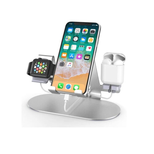 This 3-in-1 charging station is a must have for your desk or nightstand! #ABlissfulNest
