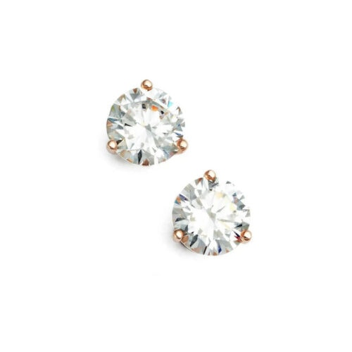 These stud earrings look like real diamonds and would be a great gift! #ABlissfulNest