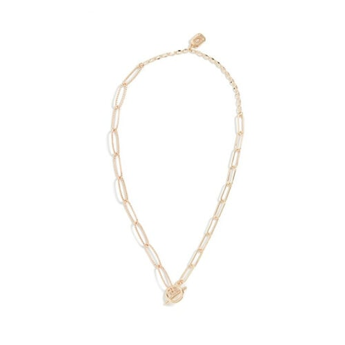 This gold chain necklace is a must - perfect gift for anyone! #ABlissfulNest
