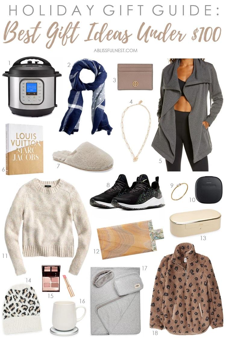 Christmas gift ideas under $100! #ABlissfulNest #christmas #giftideas