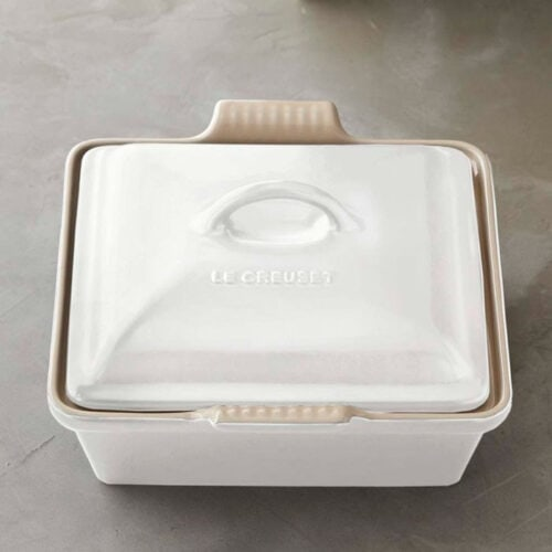 This baking dish is a must have in every kitchen and it's under $100! #ABlissfulNest