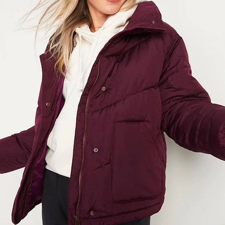 This puffer jacket is super affordable and such a cute winter find! #ABlissfulNest