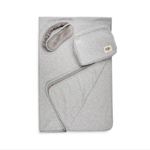 This UGG blanket and eye mask set is a must to gift! #ABlissfulNest