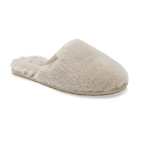 These UGG slippers are so cute and cozy, and under $100! #ABlissfulNest