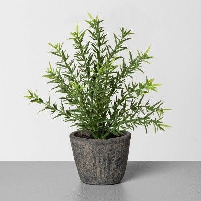the perfect faux potted plant for decorating.