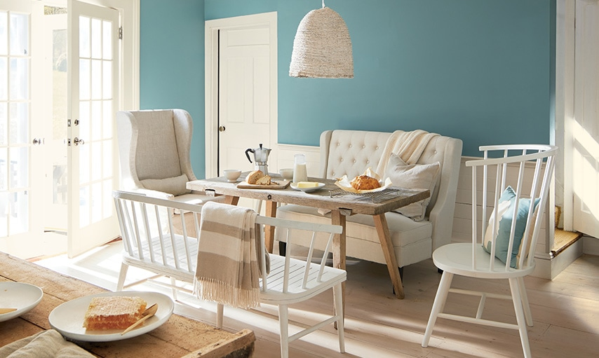 Benjamin Moore Color of the Year 2021 AegeanTeal