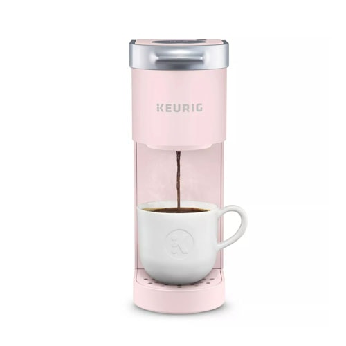 This Keurig is the prettiest shade of pink! #ABlissfulNest