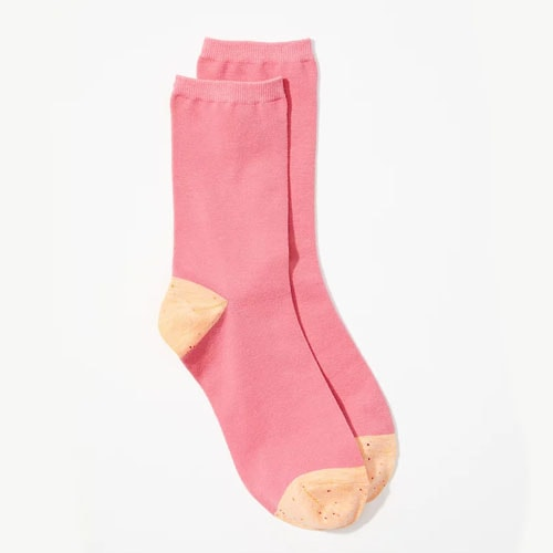 These colorblock socks are so cute and affordable! #ABlissfulNest