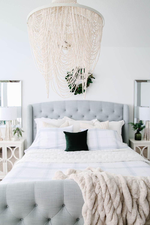 Bedroom design updates for the new year. #ABlissfulNest #bedroomideas #bedroom