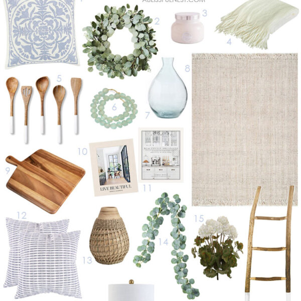 Refresh your home with these beautiful Amazon finds for spring! #ABlissfulNest #springdecor #springideas