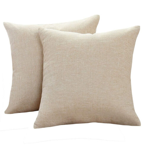 These throw pillow covers are so neutral and perfect to add to any color palette in your home! #ABlissfulNest