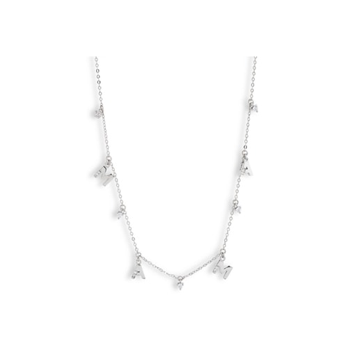 This silver MAMA necklace is the best Mother's Day gift idea out there! #ABlissfulNest
