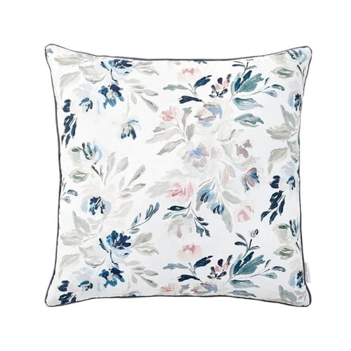 This floral throw pillow is absolutely stunning for spring! #ABlissfulnest