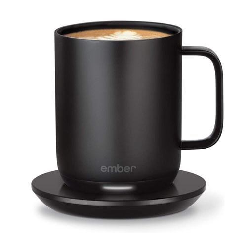 This temperature controlled mug is perfect for dad to keep his coffee warm! #ABlissfulNest