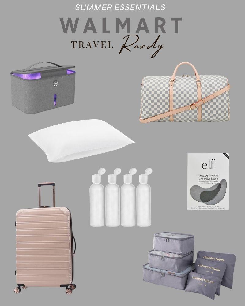 Summer travel essentials from Walmart! #ABlissfulNest #WalmartHome #ad