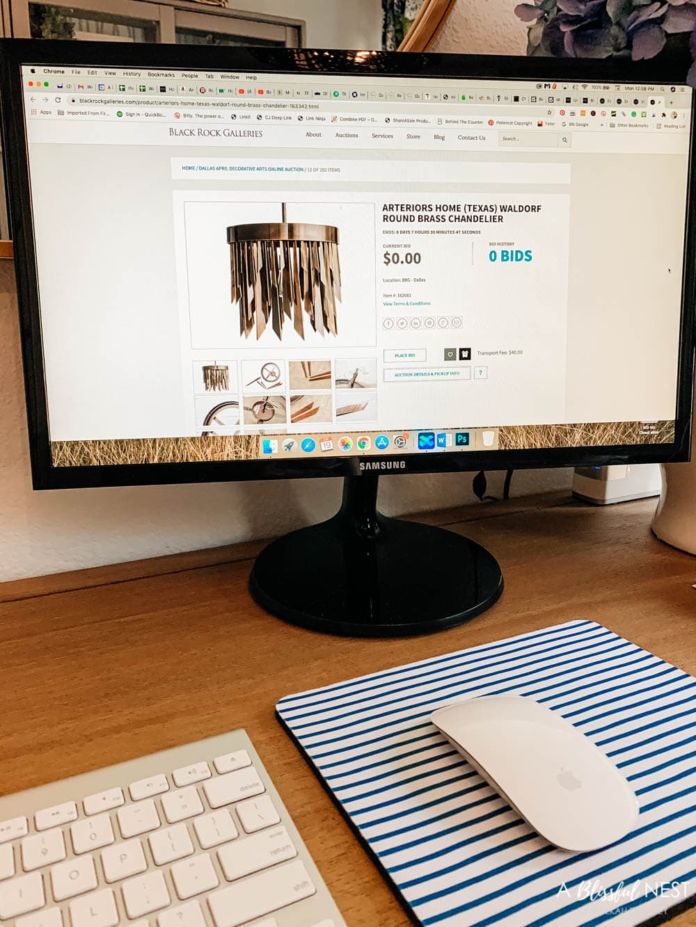 The best source for online estate sale and tag sale shopping. #ABlissfulNest #ad