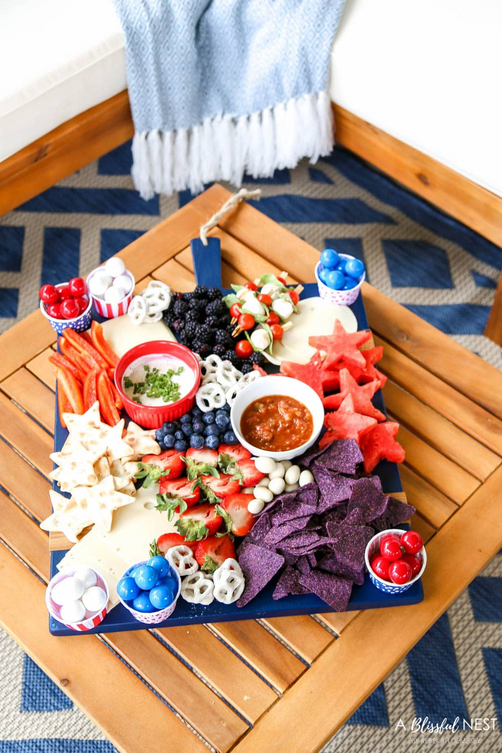 The Ultimate 4th of July Charcuterie Board