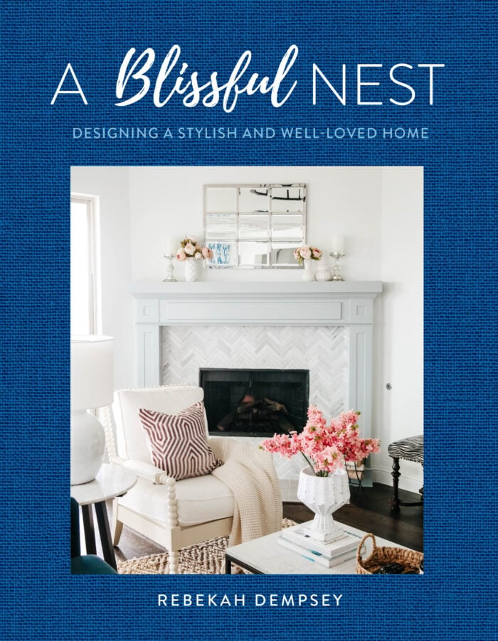 Grab this amazing book from A Blissful Nest sharing useful and helpful tips on how to decorate your home affordably with high style. #ABlissfulNest