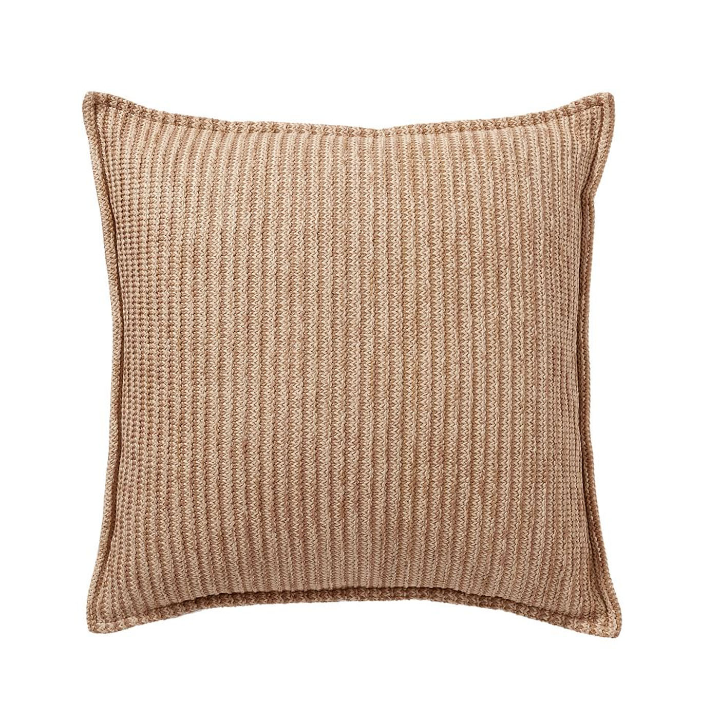 This natural throw pillow is affordable and a perfect addition to your outdoor decor! #ABlissfulNest