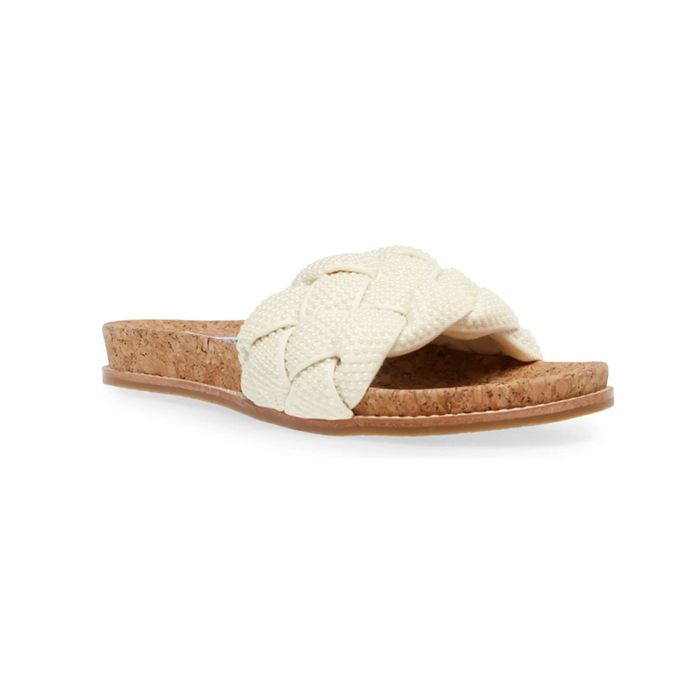 These pearl embellished slide sandals are a must have for summer! #ABlissfulNest