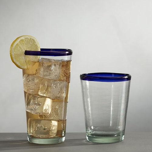¡Estos vasos acrílicos para beber son perfectos para agregar a su paisaje de verano al aire libre!  #ABlissfulNest