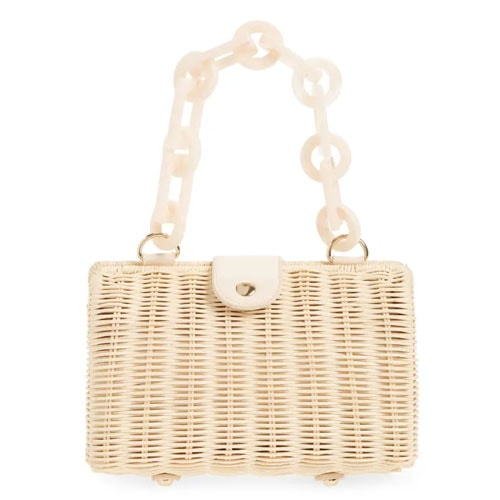 This wicker bag is soo cute for summer trips! #ABlissfulNest