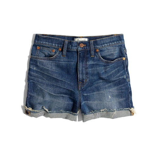 These denim shorts are affordable, versatile and fit so well! #ABlissfulNest