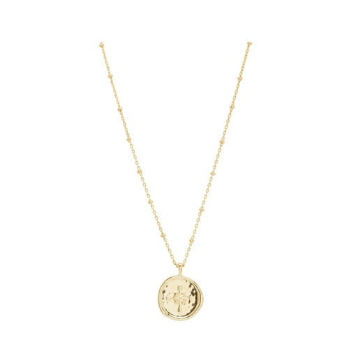 This dainty gold necklace would be so fun to layer with this summer! #ABlissfulNest