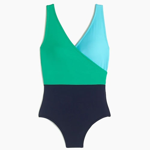 This under $30 colorblock swimsuit is a perfect addition to your rotation this summer! #ABlissfulNest