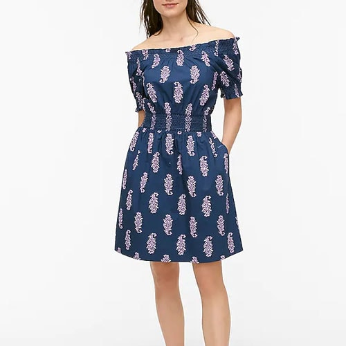 This smocked midi dress is a summer trip must-have! #ABlissfulNest
