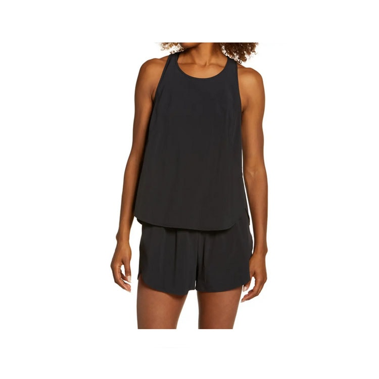 This black workout tank is such a cute find! #ABlissfulNest