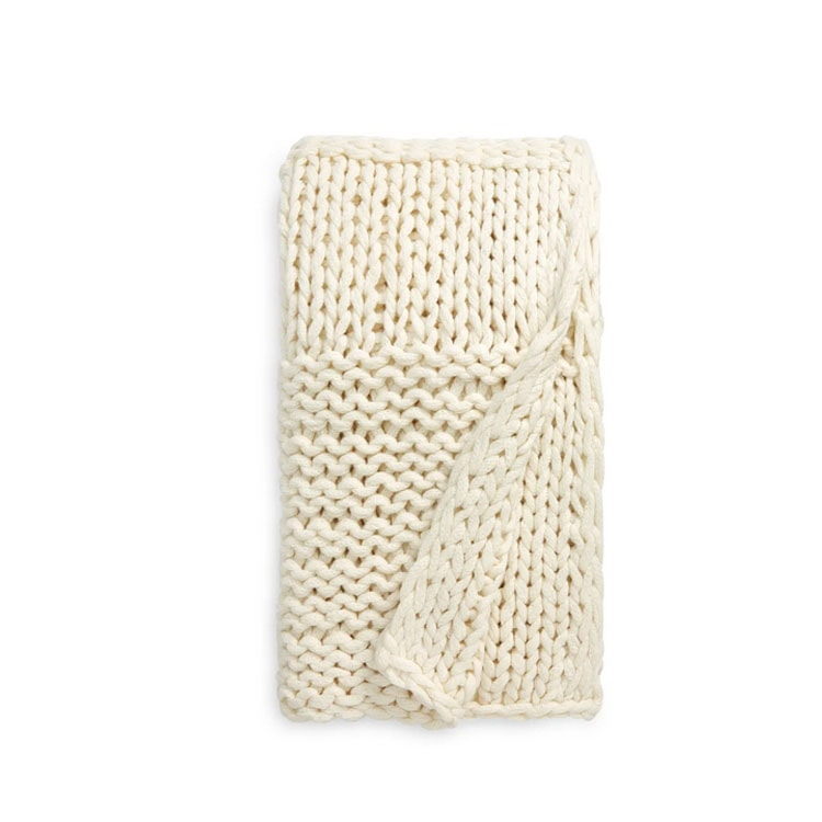 This stitched throw blanket is on sale and such a decor must have! #ABlissfulNest