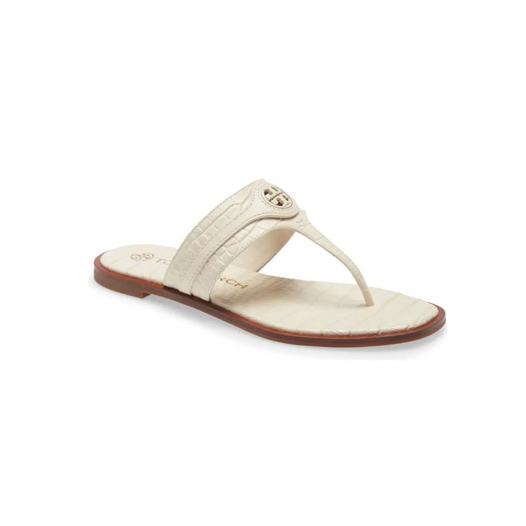 These Tory Burch sandals are on sale and are so cute! #ABlissfulNest
