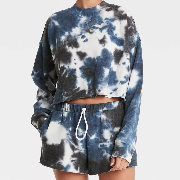 Thie tie-dye loungewear set is affordable and a must have! #ABlissfulNest