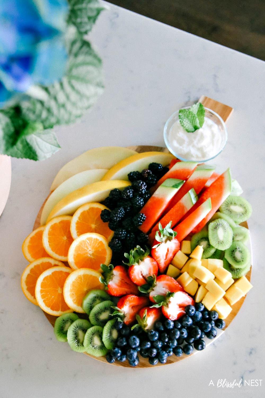 How to Create a Beautiful Fruit Charcuterie Board
