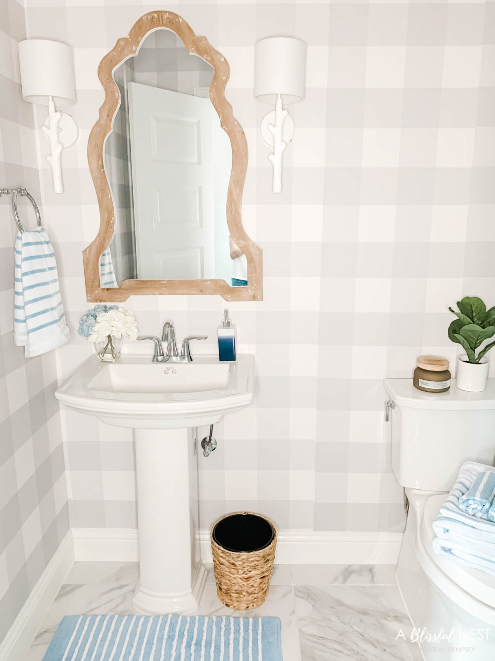 Bathroom Update + Fall Finds with Walmart