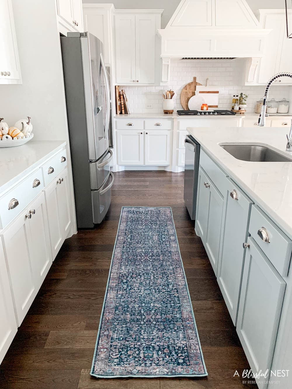 My favorite washable rugs and how to care for them. #ABlissfulNest #arearug